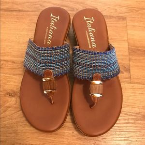 Size 8.5 Made In Italy Sandals